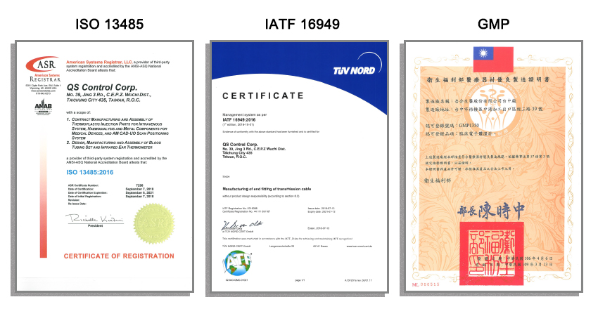 Quality Certifications Qs Control Corp